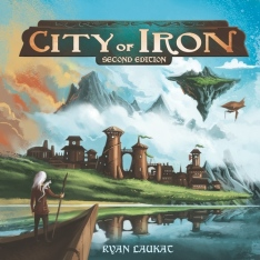 City of iron cover
