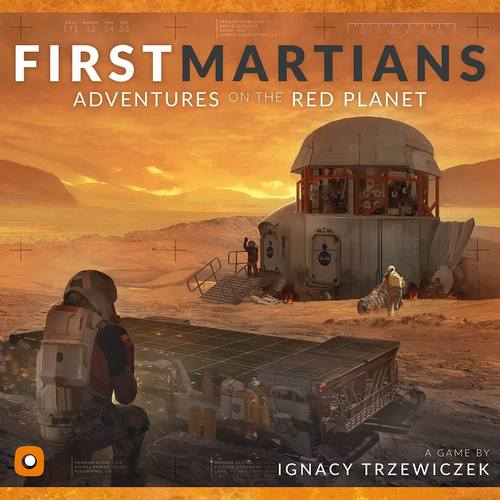 First Martians cover