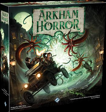 Arkham Cover